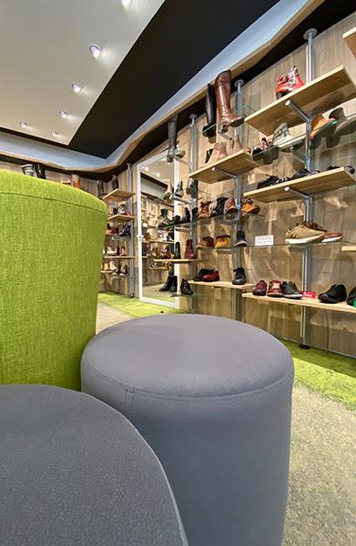 Aménagement Commerces - Chaussures