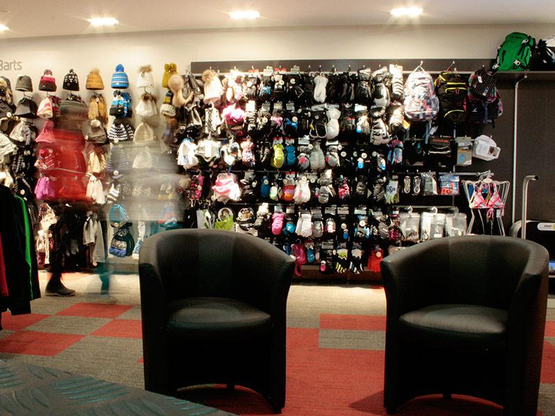 Aménagement Ski Shop Stations